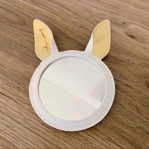Kendall & Kylie bunny mirror white gold